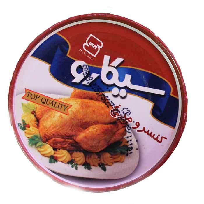 کنسرو تن مرغ